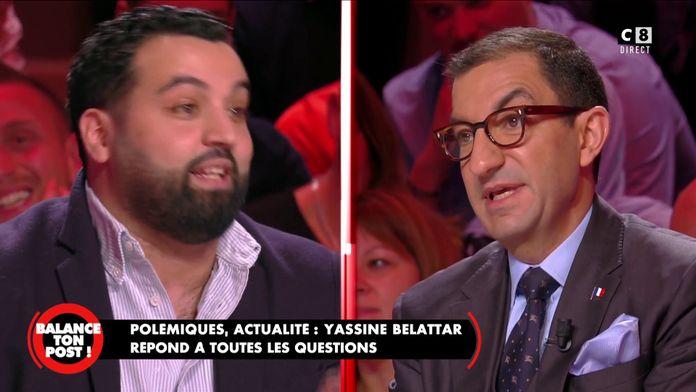 Yassine Belattar face à Jean Messiha