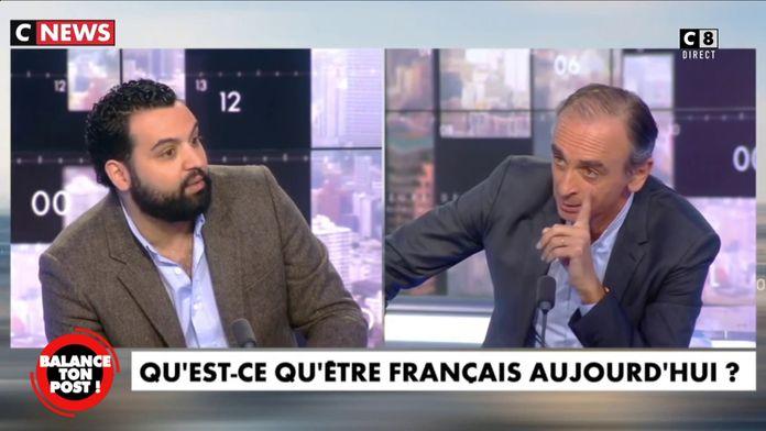 """Quand Yassine Belattar se retrouvait face à Eric Zemmour : """"Vous avez une tête d'arabe"""""""