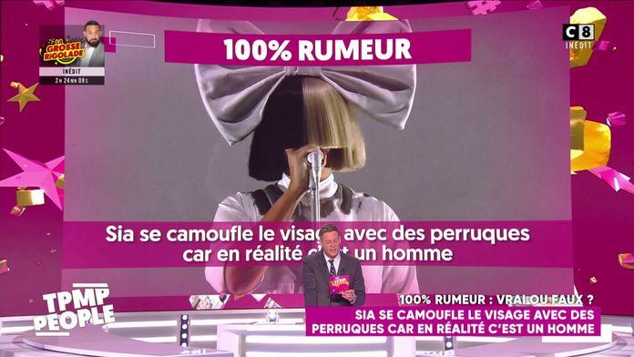 La chanteuse Sia se camouflerait le visage avec des perruques car en réalité c'est un homme !