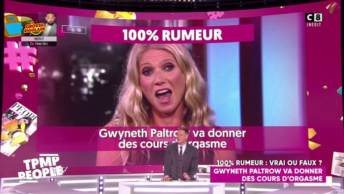 Gwyneth Paltrow va donner des cours d'orgasme !