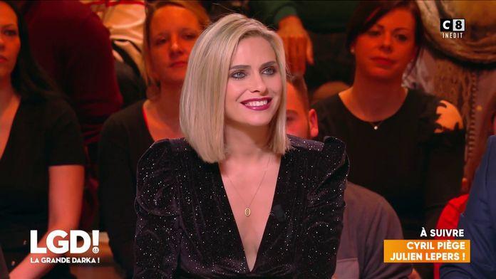 Le nouveau look de Clara Morgane fait tourner la tête de Cyril Hanouna et Laurent Baffie