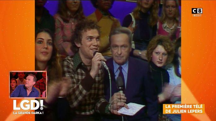 La première apparition télé de Julien Lepers en 1975