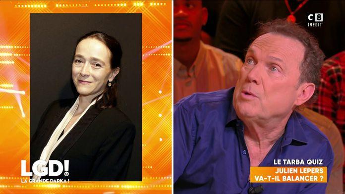Julien Lepers tacle Delphine Ernotte après son éviction de France Télévisions