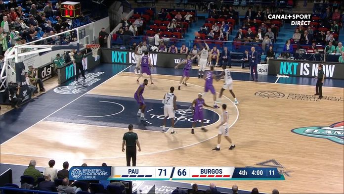 Le 3 points de Justin Dentmon !