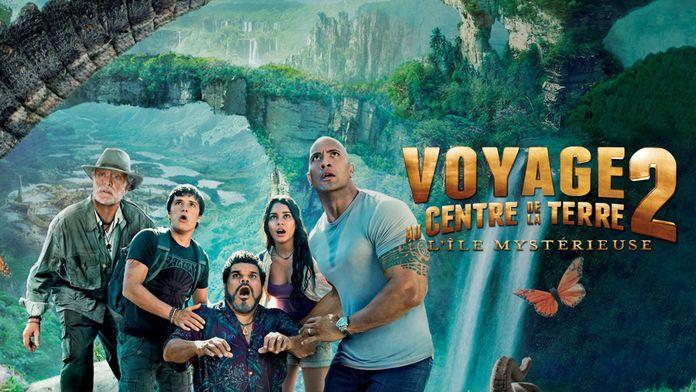 Voyage au centre de la terre 2 : l'île mystérieuse