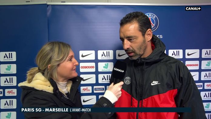 Les impressions d'Olivier Echouafni, coach des parisiennes