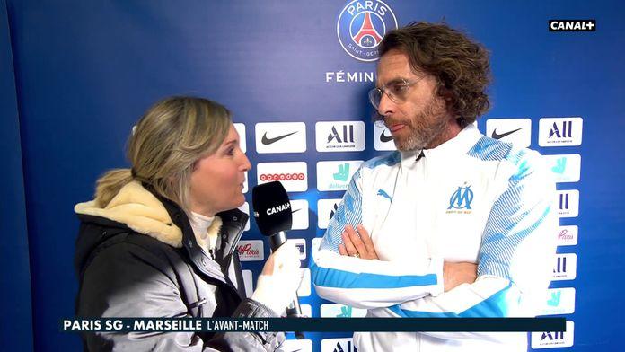 Les impressions de Christophe Parra, coach des marseillaises