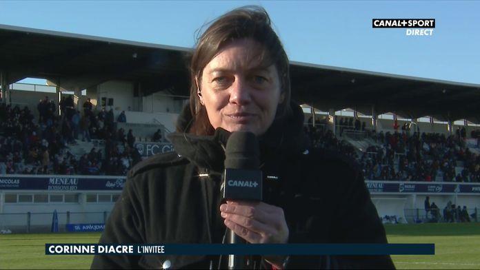 """Corinne Diacre : """"On a eu une franche discussion avec Wendie Renard"""""""