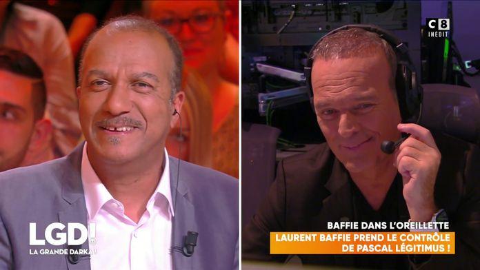 Laurent Baffie prend le contrôle de Pascal Légitimus