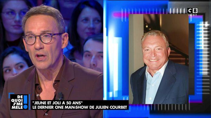 """Julien Courbet à propos de Jacques Martin : """"Il était tyrannique, j'ai pleuré plus d'une fois"""""""