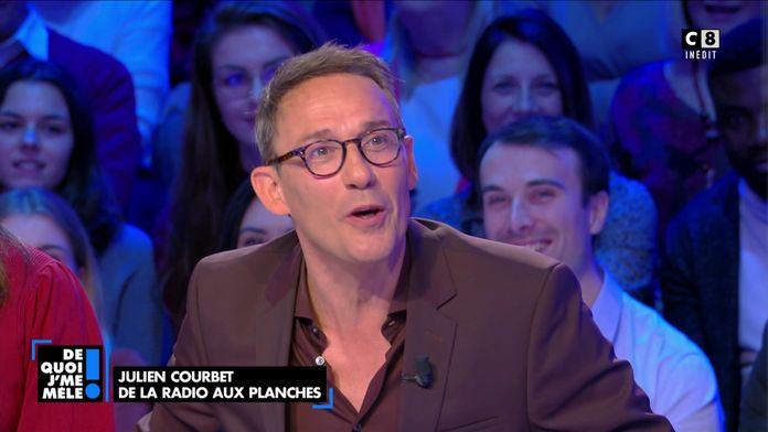 Julien Courbet revient sur son premier one man show