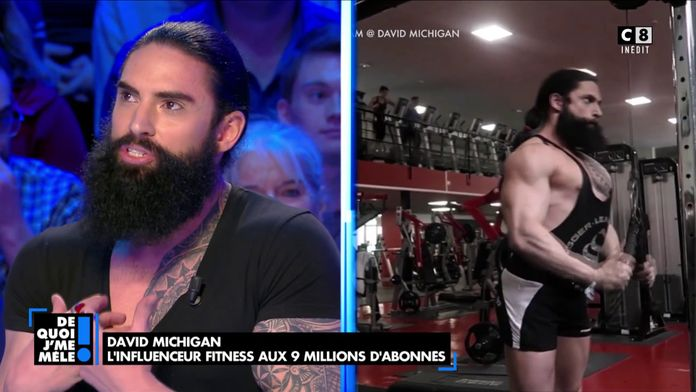 David Michigan, l'influenceur fitness aux 9 millions d'abonnés