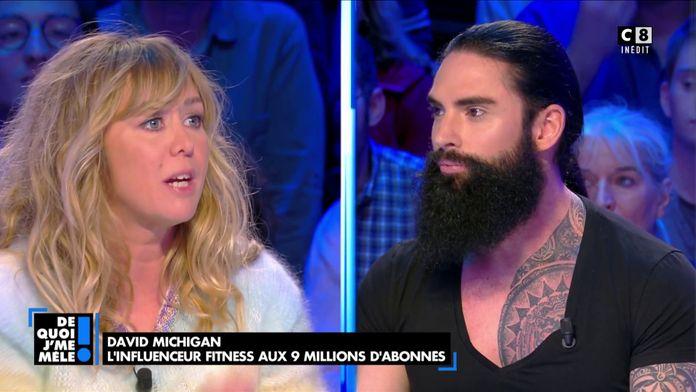Enora Malagré clashe David Michigan, le nouveau chaman français aux 9 millions d'abonnés