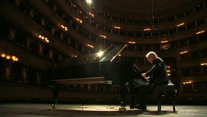 Liszt, récital pour piano, interprété par Daniel Barenboim