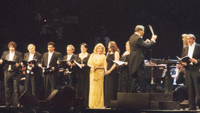 Verdi chanté par Plácido Domingo, José Carreras et Barbara Frittoli