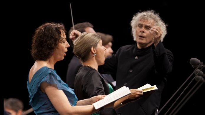 Mendelssohn - Concerto pour violon en mi mineur dirigé par Sir Simon Rattle