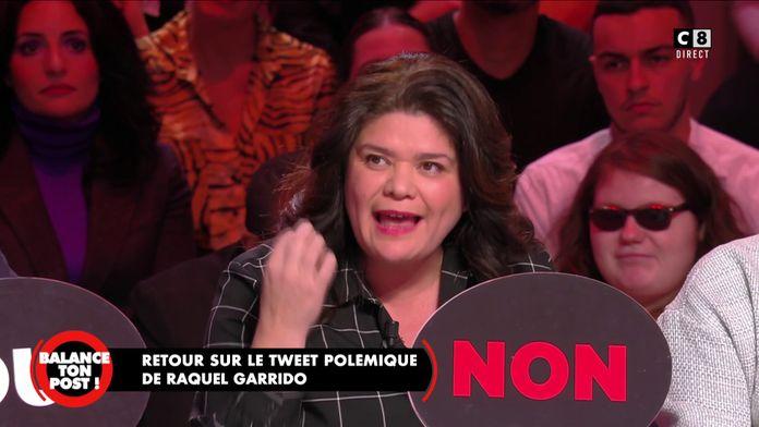 """Raquel Garrido revient sur le tweet polémique: """"Qui peut penser que je suis pour la peine de mort ?"""""""