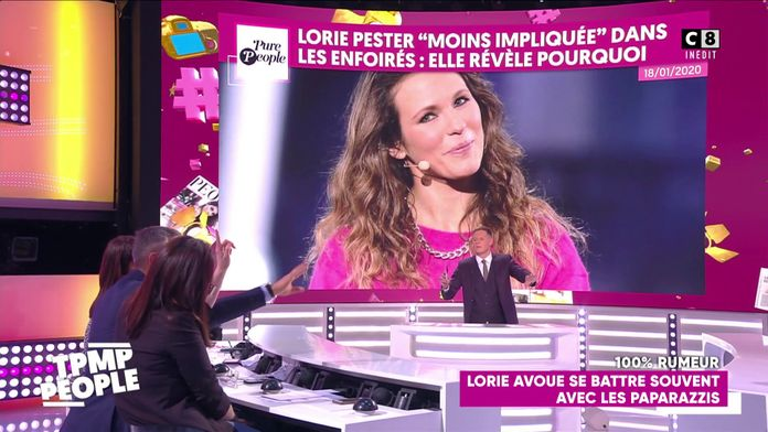 """Lorie tacle """"The Voice"""""""