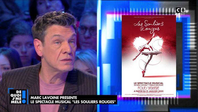 """Marc Lavoine présente le spectacle musical """"Les souliers rouges"""""""