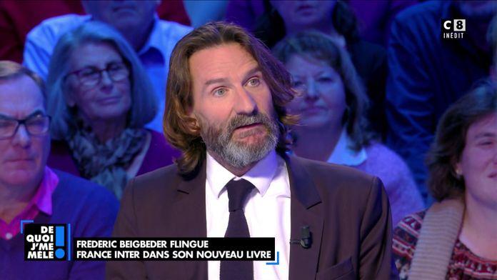 Frédéric Beigbeder revient sur son éviction de France Inter