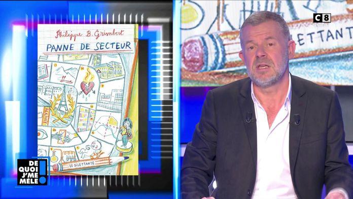 """Le livre coup de cœur d'Eric Naulleau """"Panne de secteur"""" de Philippe B.Grimbert"""