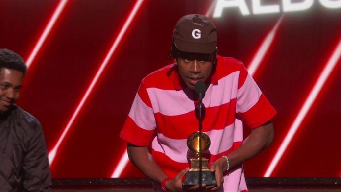 """Tyler The Creator remporte le Grammy du """"Meilleur Album Rap"""""""