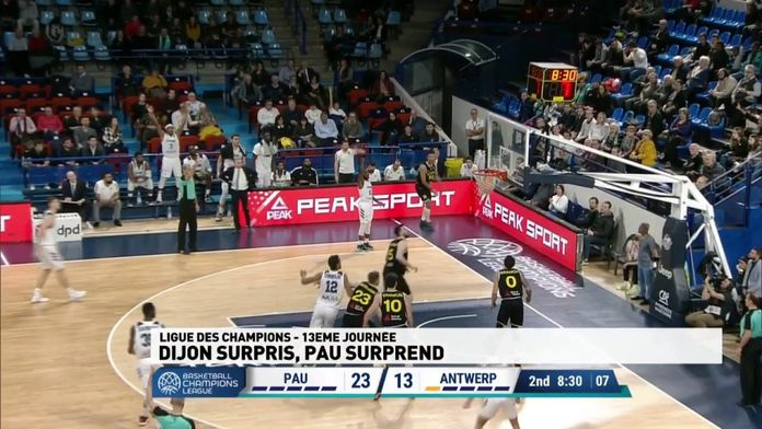 Dijon surpris, Pau surprend
