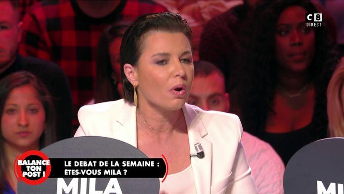 Laurence Sailliet soutient Mila et prône la liberté d'expression
