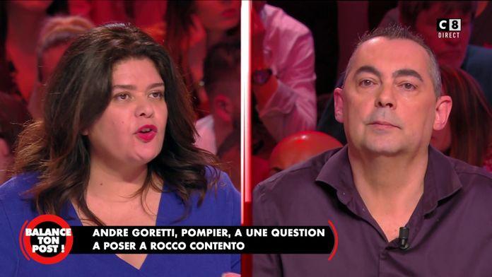 """Raquel Garrido à Rocco Contento, policier : """"J'ai peur quand je vais manifester !"""""""