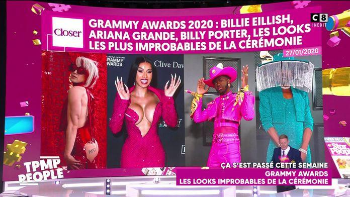 Le récapitulatif people de la semaine du 27 janvier : Les looks les plus insolites des Grammy Awards