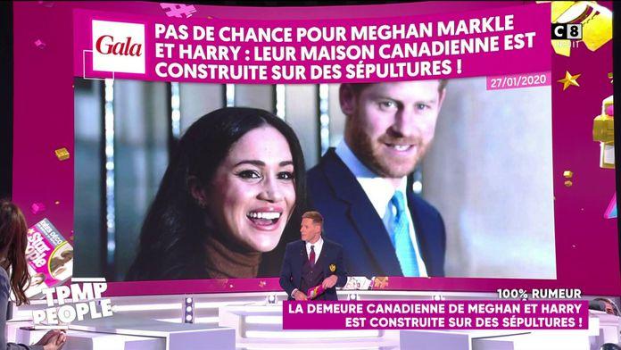 Meghan Markle et Harry : Leur maison canadienne est construite sur des sépultures