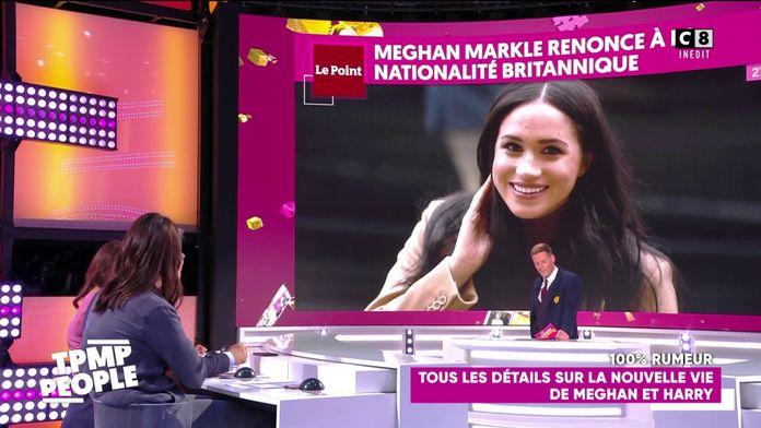 Meghan Markle refuse la nationalité britannique