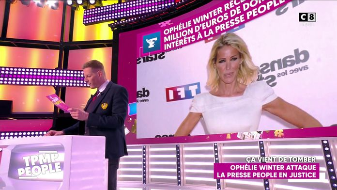 Ophélie Winter attaque la presse people en justice et demande plus d'un million d'euros