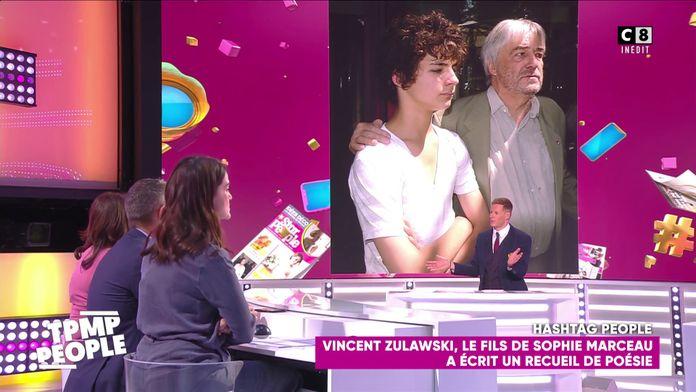 Le fils de Sophie Marceau Vincent Zulawski écrit un recueil de poésie pour aller mieux
