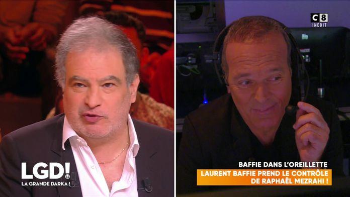 Laurent Baffie prend le contrôle de Raphaël Mezrahi