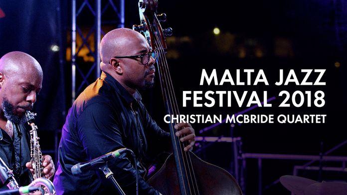 Malta jazz 2018 : Christian McBride quartet