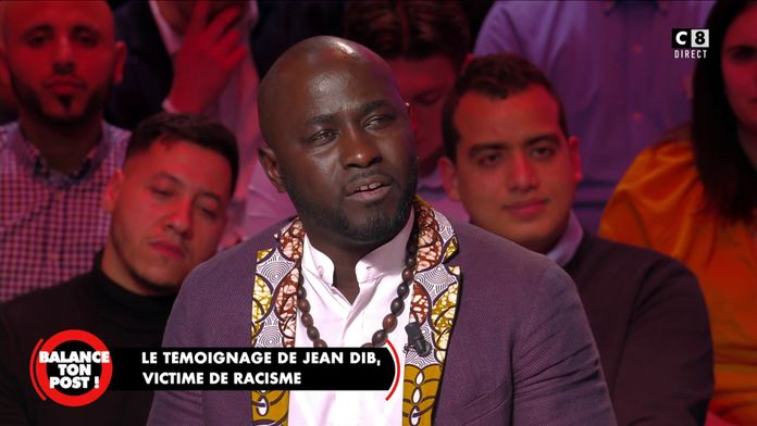 Jean Dib Ndour Français d'origine sénégalaise, propriétaire d'un café, victime de racisme