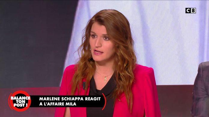"""Marlène Schiappa revient sur l'affaire Mila:""""On peut parfaitement critiquer les religions en France"""""""