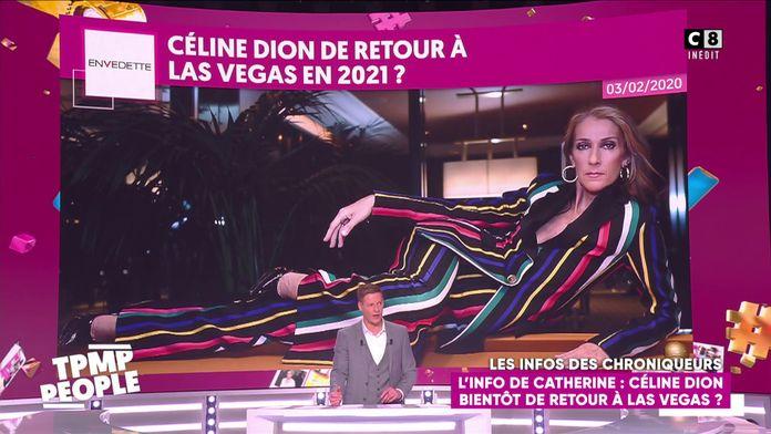 Céline Dion bientôt de retour à Las Vegas !