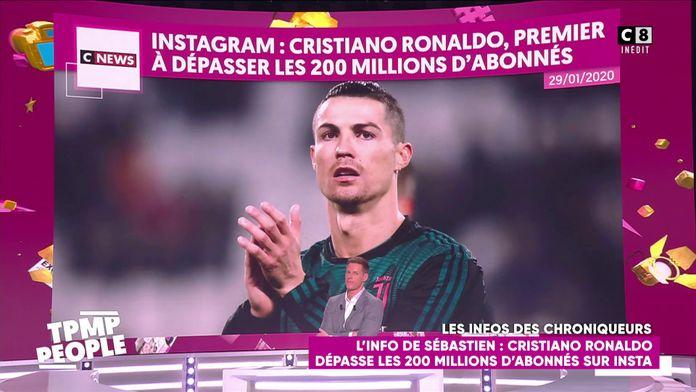 Cristiano Ronaldo dépasse les 200 millions d'abonnés sur Insta !