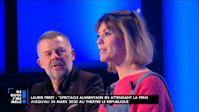 "Laurie Peret : ""Spectacle alimentaire en attendant la pension"" Entre sketch et chanson"