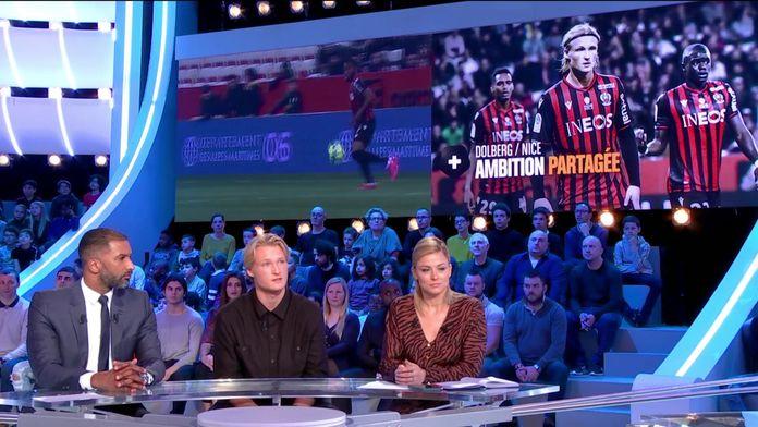 Kasper Dolberg évoque la défaite contre Nîmes et son arrivée à Nice : Canal Football Club