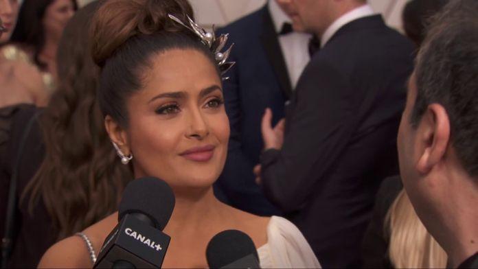 "Salma Hayek : ""Je suis une grande romantique du cinéma"" - Oscars 2020"