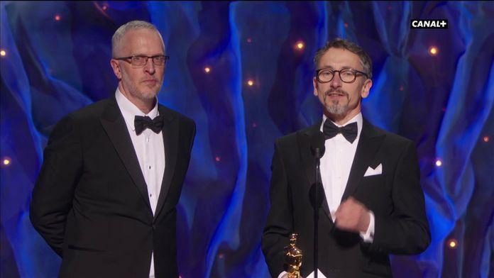 1917 reçoit l'Oscar du meilleur mixage - Oscars 2020