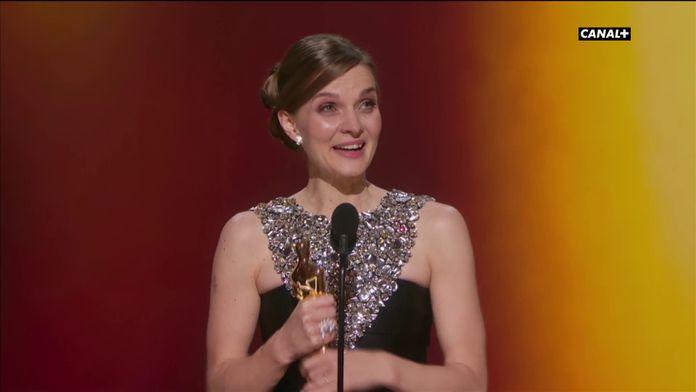 Hildur Guðnadóttir reçoit l'Oscar de la Meilleure Musique Originale pour Joker  - Oscars 2020