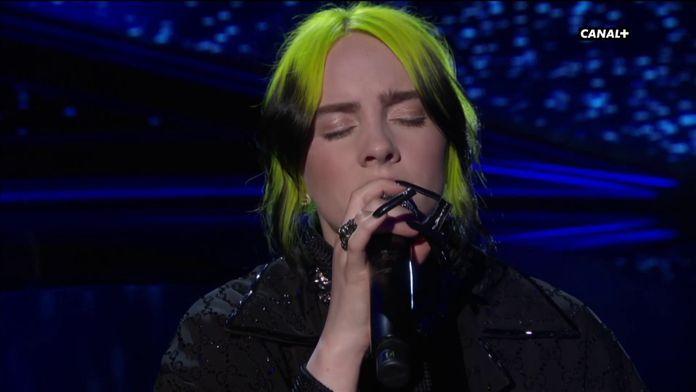 """Billie Eilish interprète """"Yesterday"""" en hommage aux disparus du cinéma - Oscars 2020"""