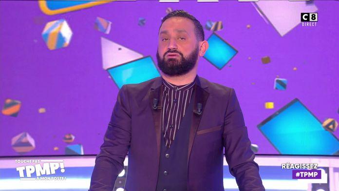 """Cyril Hanouna en colère contre la chaîne W9 qu'il accuse de plagiat pour """"La grosse rigolade"""""""
