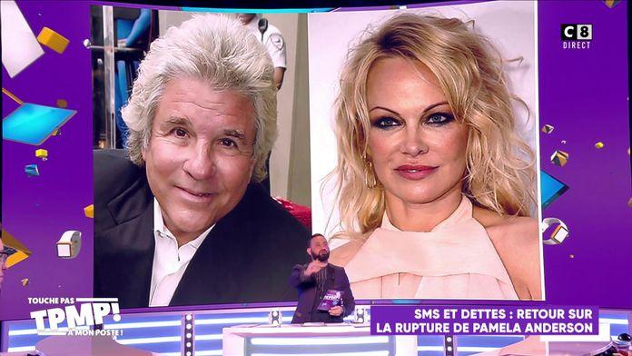 Pamela Anderson larguée par SMS après 12 jours de relation !
