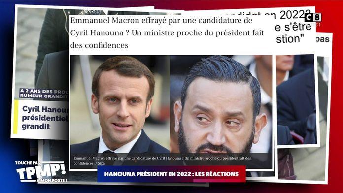 Médias et politiques craignent-ils une candidature de Cyril Hanouna en 2022 ?
