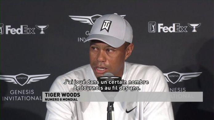 Tiger Woods en chasse : Genesis Invitational